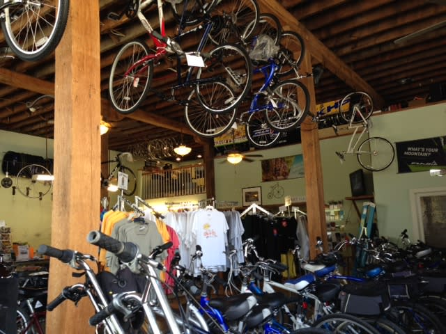 Selection of Bikes at Confluence Cyclery