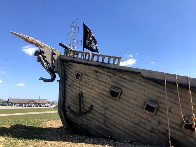 Bear Paw Beach Ship Wreck'd Island