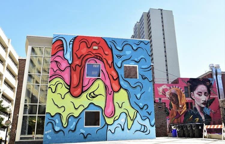 Dewberry St. HBG Mural