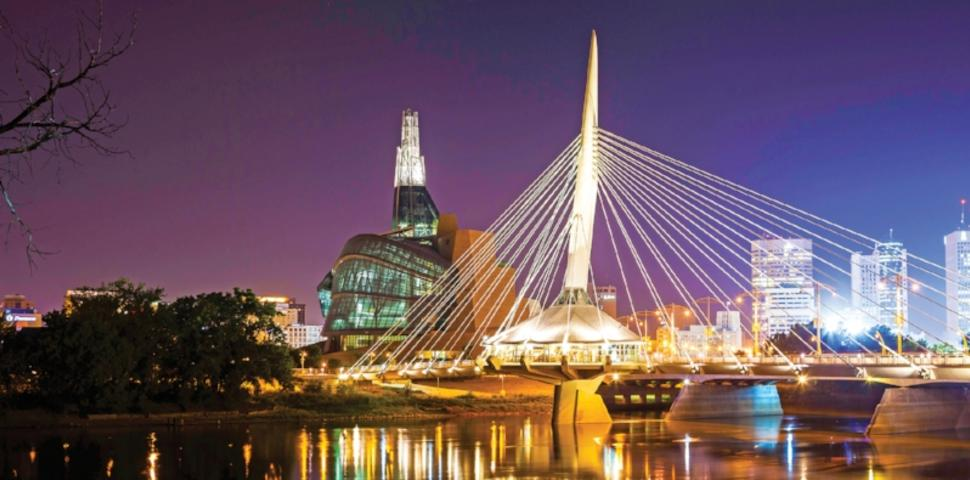 Winnipeg at night