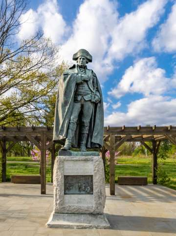 Valley Forge National Historical Park Spring 2021 Shot by Dylan Eddinger, who was hired as a freelancer.