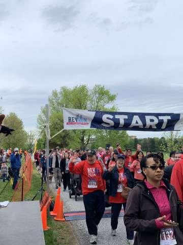 3-Mile Walk Rev run