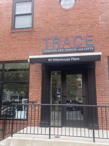 TRACE art gallery gift shop