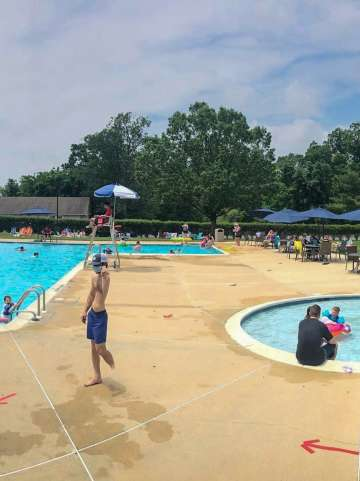 Blue Bell Country Club Pool 1