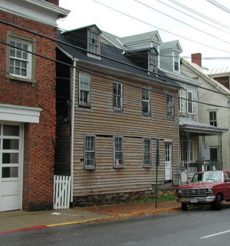 Maynard Burgess House before renovations and preservation