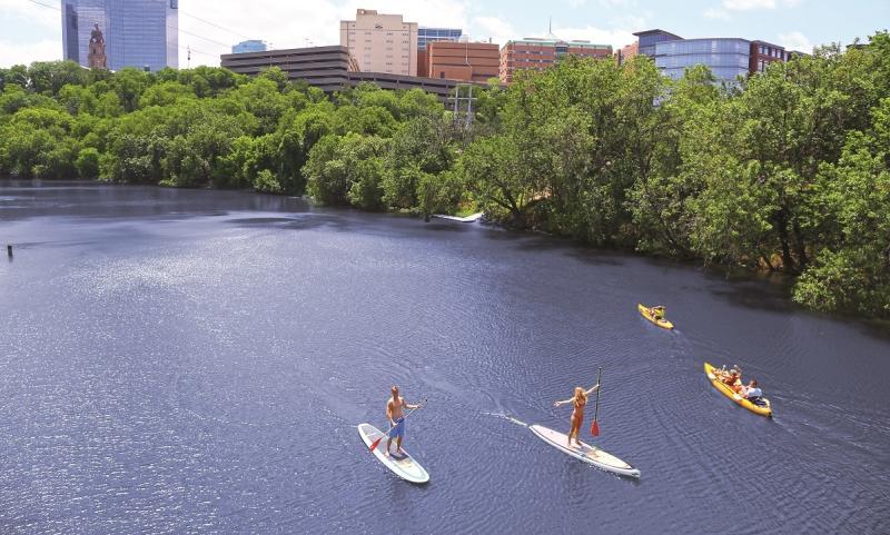 Paddle Board Trinity River