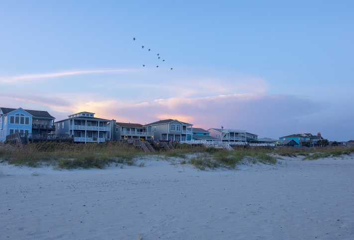 Beach vacation rental homes