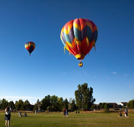 Hot Air Baloons 4th of July