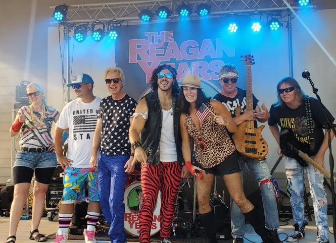 Reagan Years Band Photo