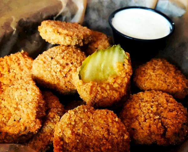Fried Pickles at the Anchor
