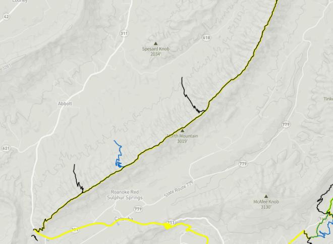North Mountain Trail System - Roanoke, VA