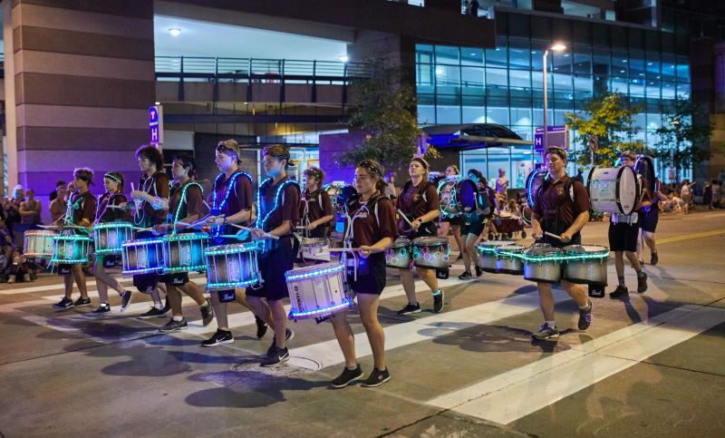 Torchlight parade Aquatennial