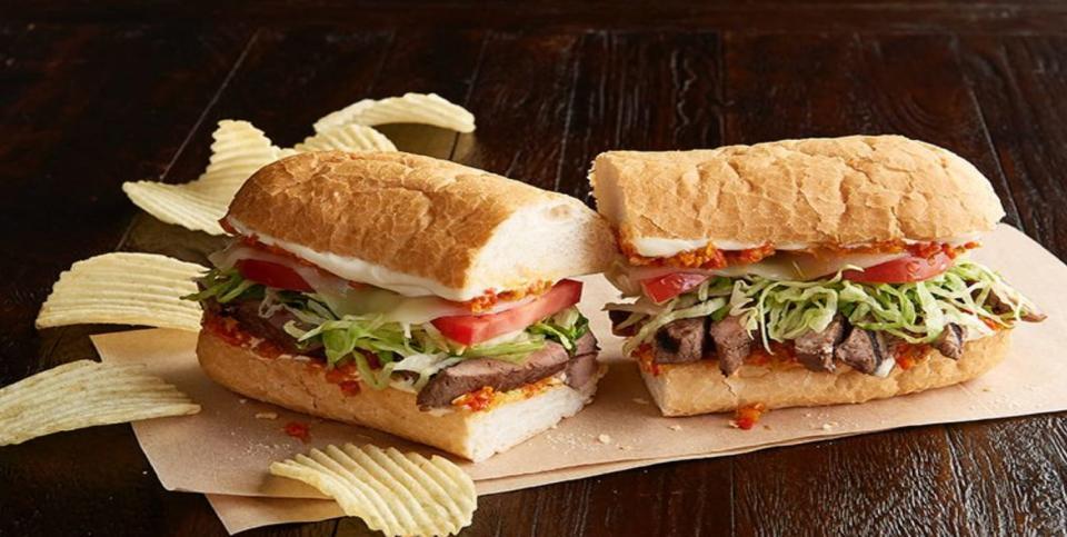Jason's Deli PoBoy Sandwich