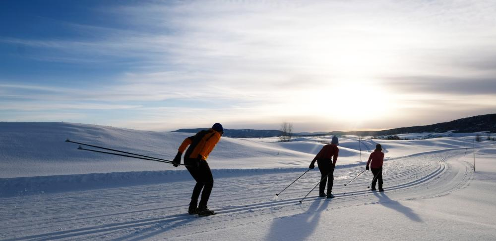 Nordic Skiing at Haymaker in Steamboat Springs, Colorado