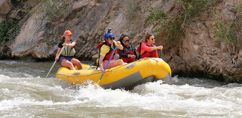 Guided Rafting Tour