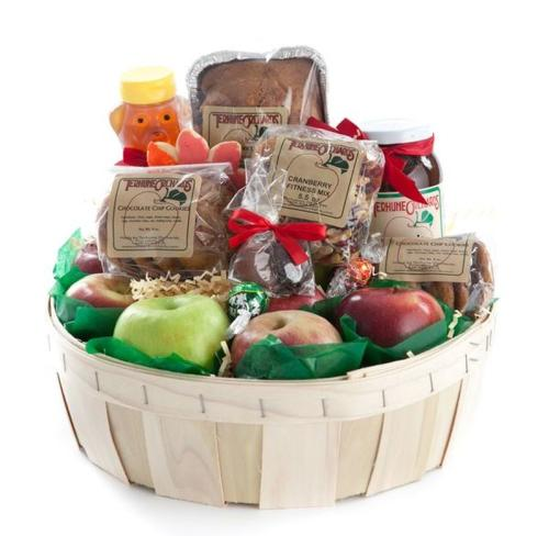 A gift basket from terhune orchards