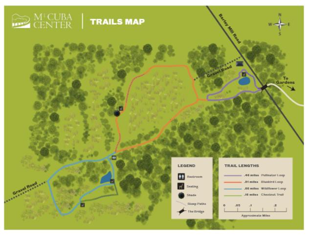 Mt. Cuba Trail Map