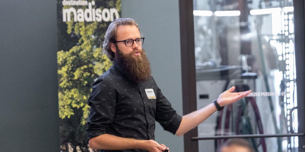 Guest speaker, Spencer Ploessl