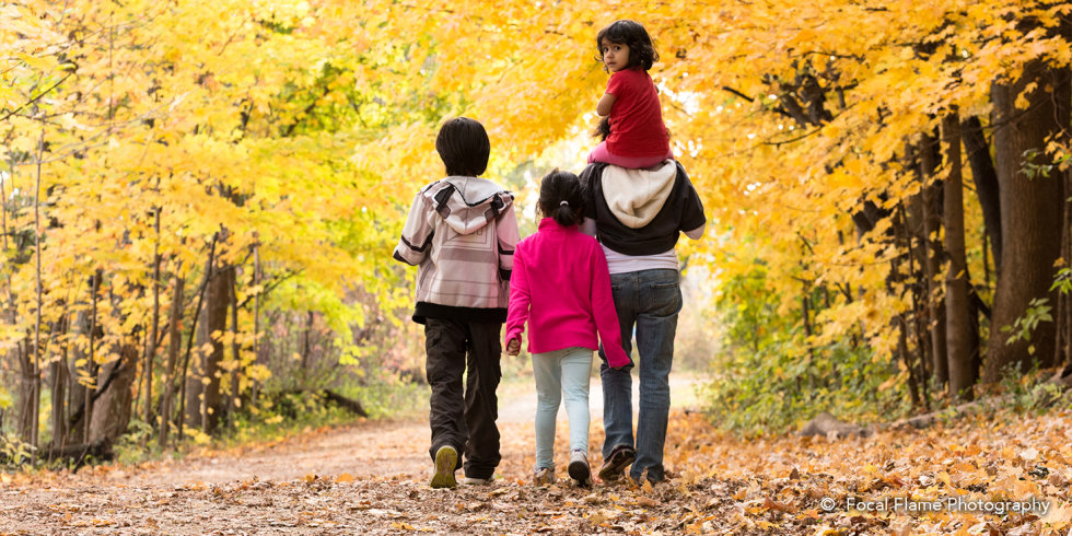 Walk during Fall