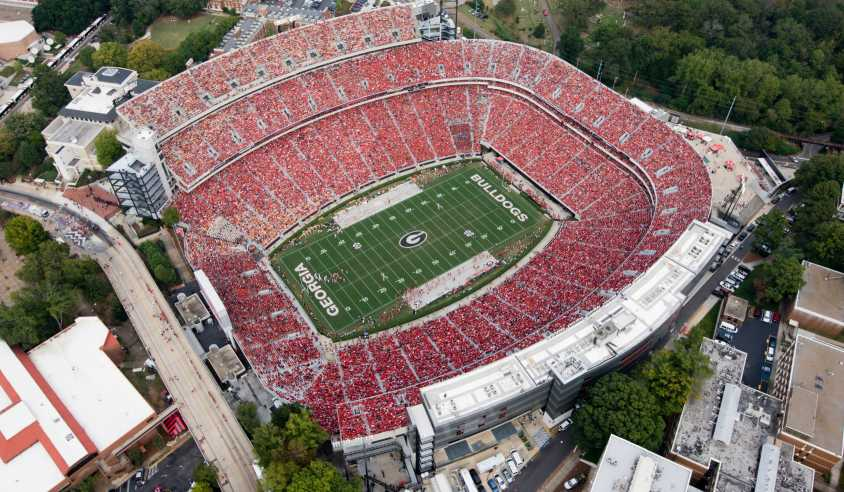University Of Georgia Athens >> Top 10 Places To Watch A Uga Football Game In Athens