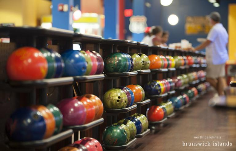 Bowling in Shallotte at Planet Fun