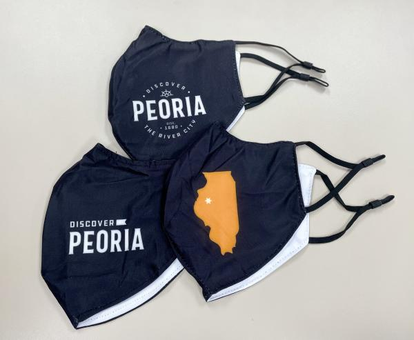 Discover Peoria 3-Pack of Masks