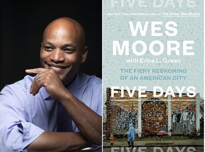Wes Moore is a featured author at the annapolis Book festival