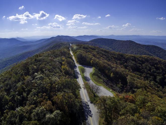 Blue Ridge Parkway Scenic