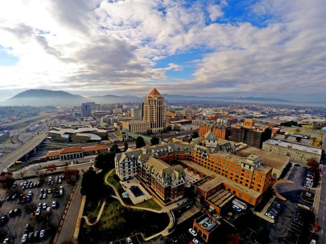 Downtown Roanoke Virginia