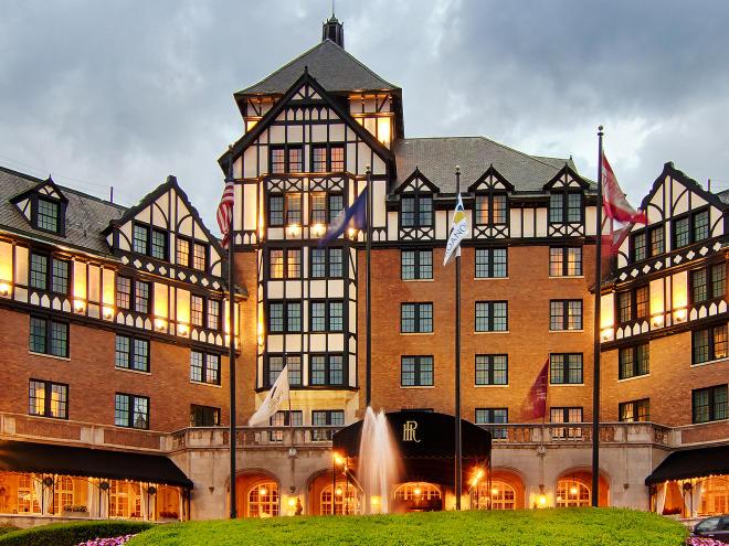 Hotel Roanoke in Downtown Roanoke