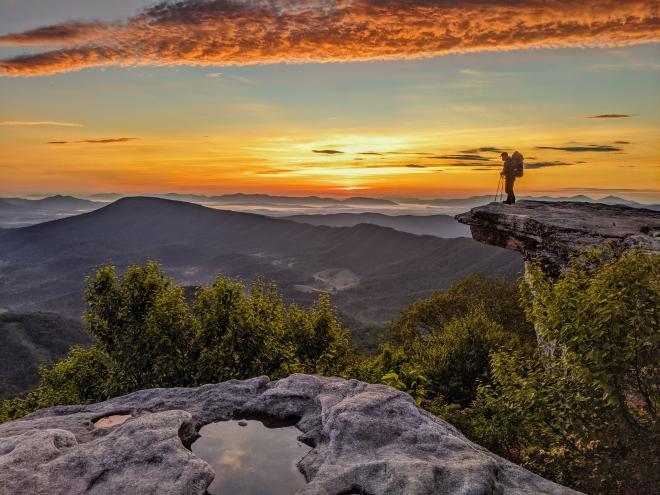 McAfee Knob - Appalachian Trail - Roanoke, Virginia