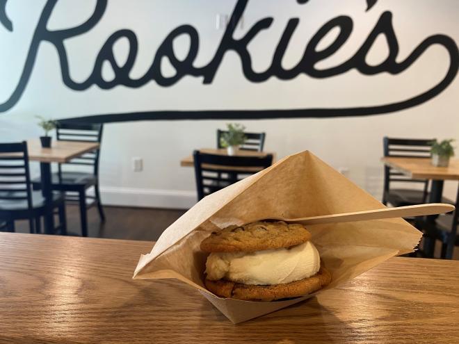 Rookie's - Cookie Ice Cream Sandwich - Roanoke, VA