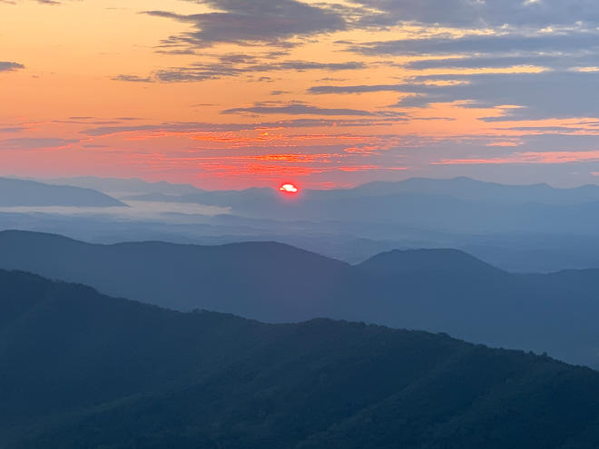 Sunrise - Roanoke, Virginia