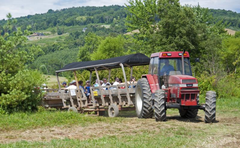 Great Country Farms Tractor Tour