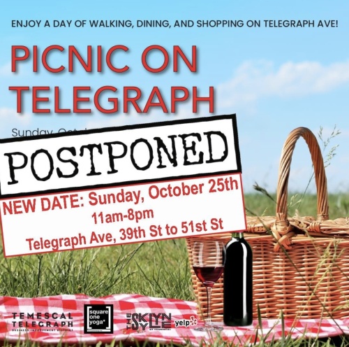 Picnic on Telegraph Flyer