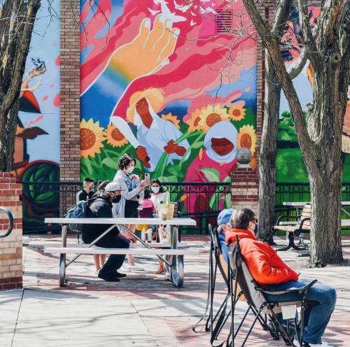 Murals in Overland Park
