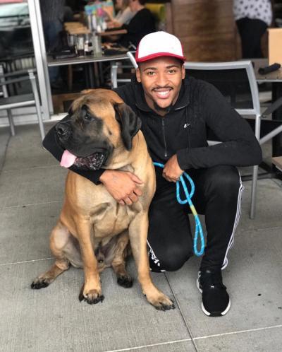 Dog-Friendly Patio at Bru Burger