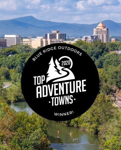 Roanoke, Virginia - Top Adventure Town