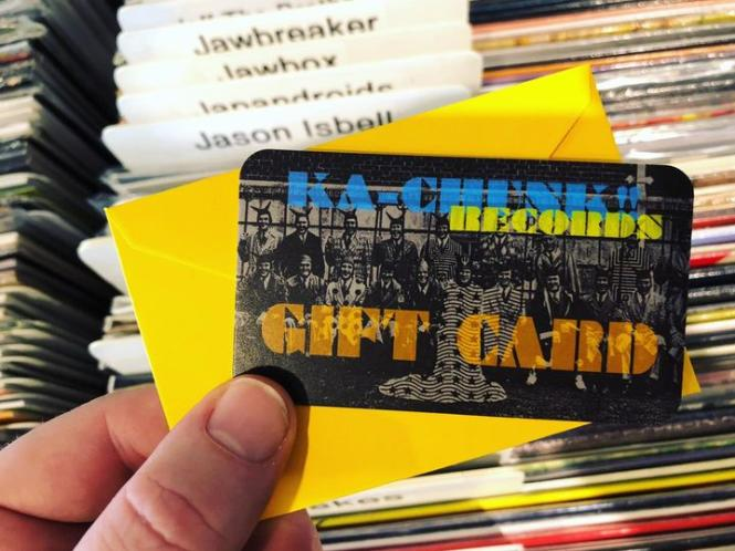 Ka-Chunk Records Gift Card.