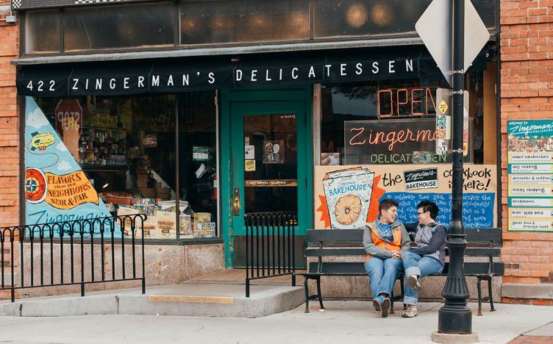 Zingerman's Deli, Ann Arbor, MI