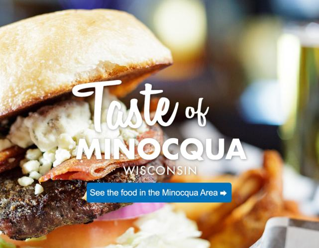 taste of minocqua burger