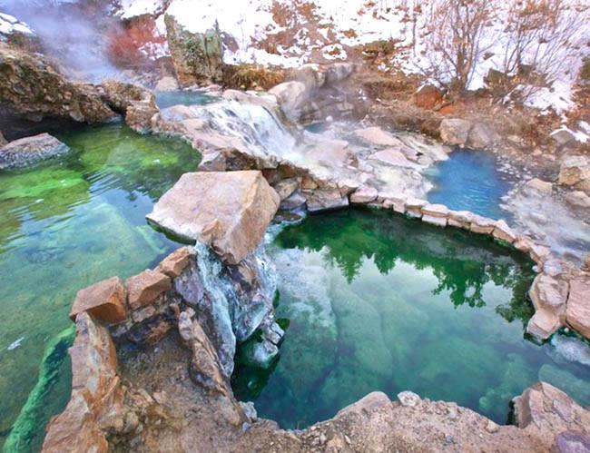 Natural Wonders - Fifth Water Hot Springs