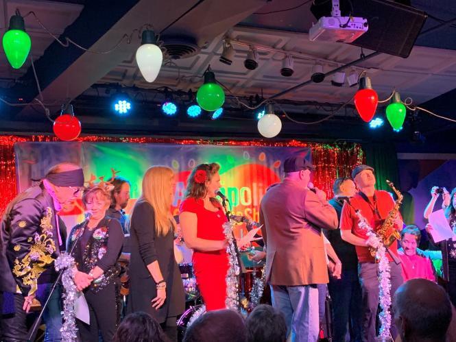 AMFM Christmas Show at Rams Head On Stage in 2019.