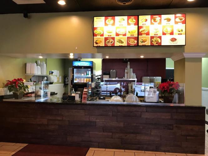 Christy's Cafe restaurant counter