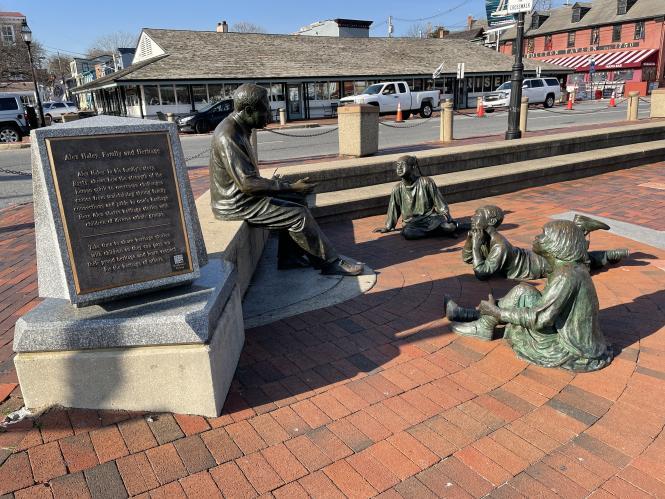 The Kunte Kinta - Alex Haley Memorial in Annapolis, MD.