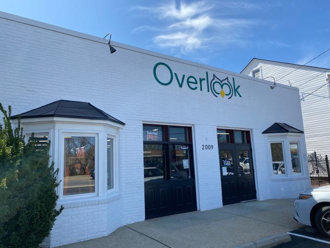 The exterior facade of Overlook.
