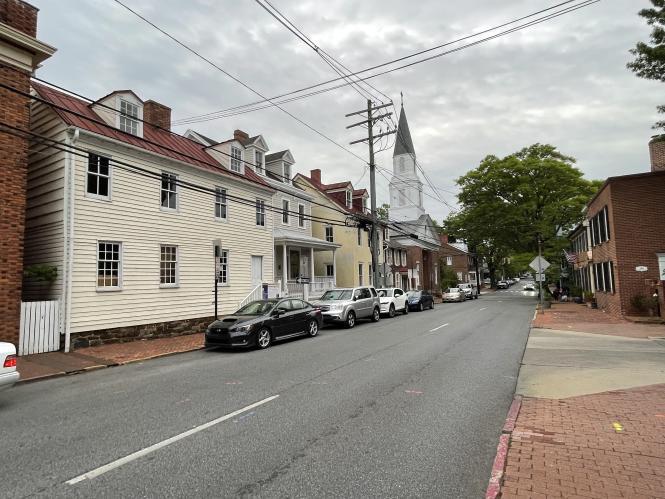 Street view down Duke of Gloucester