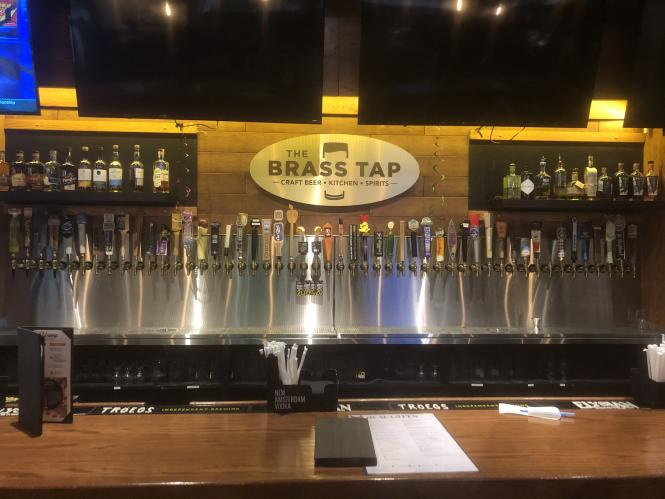 The Brass Tap at Westfield Annapolis.