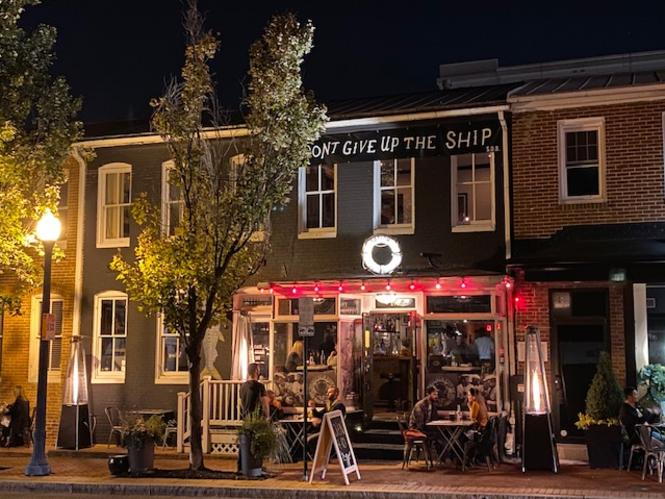 Sailor Oyster Bar on West Street in Annapolis.