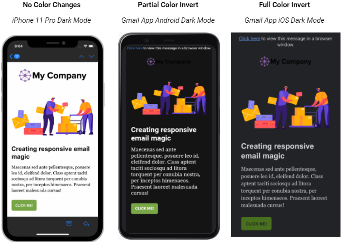 Email- Dark Mode for email marketing- BLOG- Aug2021